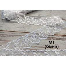 Кружево М1 (белое)