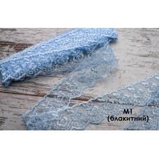 Кружево М1 (блакитне)