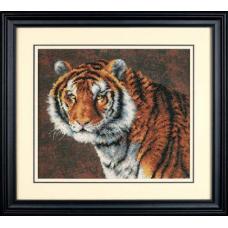 """Набор для вышивания крестом """"Тигр//Tiger"""" DIMENSIONS 03236"""