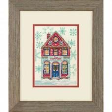 """Набор для вышивания крестом """"Holiday Home//Праздничный дом"""" DIMENSIONS 70-08988"""