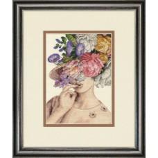 """Набор для вышивания крестом """"Garden Lady//Садовая леди""""  DIMENSIONS 70-65209"""