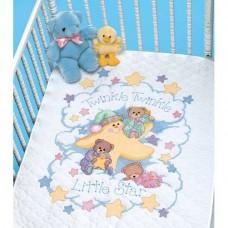 "Набор для вышивания крестом ""Твинки Твинки//Twinkle Twinkle Quilt"" DIMENSIONS 03171"