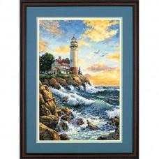 """Набор для вышивания крестом """"Скалистый берег//Rocky Point"""" DIMENSIONS 03895"""