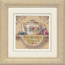 """Набор для вышивания крестом """"Драгоценный друг//Treasured Friend Teapot"""" DIMENSIONS 06904"""