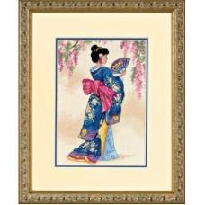 """Набор для вышивания крестом """"Элегантная Гейша//Elegant Geisha"""" DIMENSIONS 06953"""