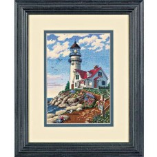 "Набор для вышивания крестом ""Маяк//Beacon at Rocky Point"" DIMENSIONS 06958"