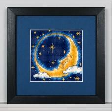 """Набор для вышивания гобеленом """"Лунный мечтатель//Moon Dreamer"""" DIMENSIONS 07173"""