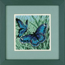 "Набор для вышивания гобеленом ""Дуэт бабочек//Butterfly Duo"" DIMENSIONS 07183"