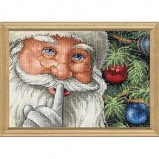 """Набор для вышивания крестом """"Секрет Санты//Santa's Secret"""" DIMENSIONS 08799"""