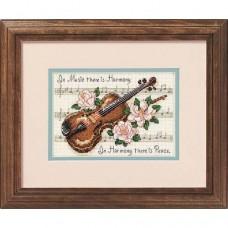 """Набор для вышивания крестом """"Гармония музыки//Music is Harmony"""" DIMENSIONS 16656"""