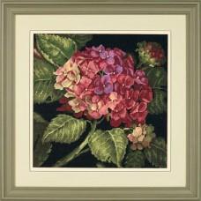 """Набор для вышивания гобеленом """"Цветение гортензии//Hydrangea Bloom"""" DIMENSIONS 20053"""