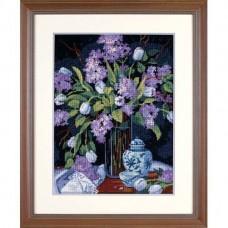 """Набор для вышивания гобеленом """"Тюльпаны и сирень//Tulips & Lilacs"""" DIMENSIONS 20067"""