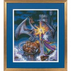 """Набор для вышивания крестом """"Великолепный волшебник//Magnificent Wizard"""" DIMENSIONS 35080"""