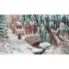 """Набор для вышивания крестом """"Зимние кружева//Winter Lace"""" DIMENSIONS 35111"""