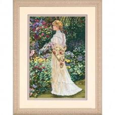 """Набор для вышивания крестом """"В ее саду//In Her Garden"""" DIMENSIONS 35119"""