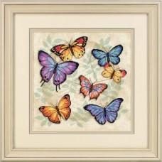 """Набор для вышивания крестом """"Обилие бабочек//Butterfly Profusion"""" DIMENSIONS 35145"""
