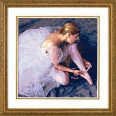 """Набор для вышивания крестом """"Красота балерины//Ballerina Beauty"""" DIMENSIONS 35181"""