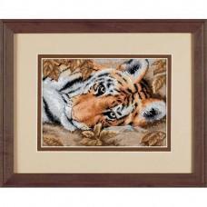 """Набор для вышивания крестом """"Красивый тигр//Beguiling Tiger"""" DIMENSIONS 65056"""