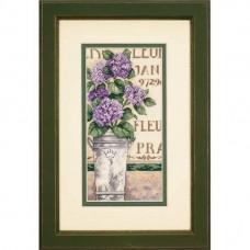 """Набор для вышивания крестом """"Гортензия//Hydrangea Floral"""" DIMENSIONS 65092"""