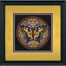 "Набор для вышивания крестом ""Витиеватая бабочка//Ornate Butterfly"" DIMENSIONS 65095"