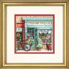 """Набор для вышивания крестом """"Магазин игрушек//Toy Shoppe"""" DIMENSIONS 70-08900"""