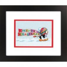 """Набор для вышивания крестом """"Рождественский пингвин//Christmas Penguin"""" DIMENSIONS 70-08950"""