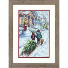 """Набор для вышивания крестом """"Рождественская традиция//Christmas Tradition"""" DIMENSIONS 70-08960"""