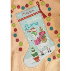 """Набор для вышивания крестом """"Ллама//Llama stocking"""" DIMENSIONS 70-08977"""