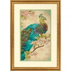 """Набор для вышивания крестом """"Индийский павлин//Indian Peacock DIMENSIONS 70-35293"""