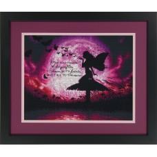 """Набор для вышивания крестом """"Фея бабочек//Butterfly Fairy"""" DIMENSIONS 70-35337"""