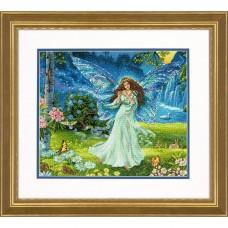 """Набор для вышивания крестом """"Весенняя фея//Spring Fairy"""" DIMENSIONS 70-35354"""