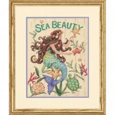"""Набор для вышивания крестом """"Морская красота//Sea Beauty"""" DIMENSIONS 70-35376"""