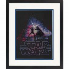 """Набор для вышивания крестом """"Люк и Дарт Вейдер//Luke and Darth Vader"""" DIMENSIONS 70-35382"""