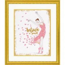 """Набор для вышивания крестом """"Dream Dancer//Танцовщица мечты"""" DIMENSIONS 70-35384"""
