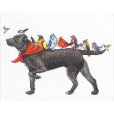 """Набор для вышивания крестом """"Bird dog//Птичья собака"""" DIMENSIONS 70-35385"""