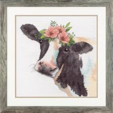 """Набор для вышивания крестом """"Sweet Cow//Сладкая корова"""" DIMENSIONS 70-35386"""