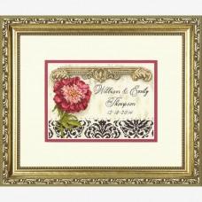 """Набор для вышивания крестом """"Элегантная свадьба//Elegant Wedding Record"""" DIMENSIONS 70-65138"""