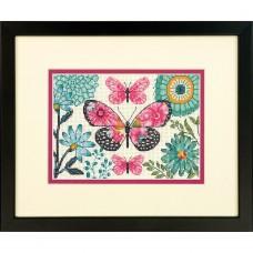 "Набор для вышивания крестом ""Мечта бабочки//Butterfly Dream"" DIMENSIONS 70-65178"