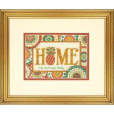 """Набор для вышивания крестом """"Ананасовый дом//Pineapple Home"""" DIMENSIONS 70-65179"""