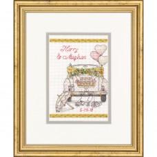"""Набор для вышивания крестом """"День свадьбы//Wedding Day"""" DIMENSIONS 70-65185"""