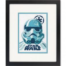 """Набор для вышивания крестом """"Штурмовик//Stormtrooper"""" DIMENSIONS 70-65193"""