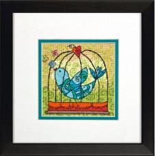"""Набор для вышивания гобеленом """"Птичка//Birdie"""" DIMENSIONS 71-07235"""