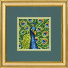 """Набор для вышивания гобеленом """"Красочный павлин//Colorful Peacock"""" DIMENSIONS 71-07242"""