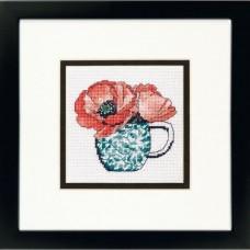 """Набор для вышивания гобеленом """"Floral Teacup//Цветочная чашка"""" DIMENSIONS 71-07247"""