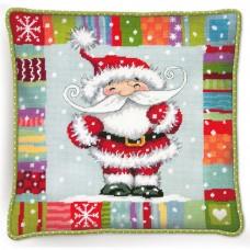 """Набор для вышивания гобеленом """"Санта с узором//Patterned Santa"""" DIMENSIONS 71-09157"""