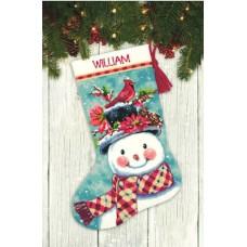 "Набор для вышивания гобеленом ""Seasonal Snowman//Снеговик"" DIMENSIONS 71-09159"