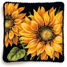 """Набор для вышивания гобеленом """"Драматический подсолнух//Dramatic Sunflower"""" DIMENSIONS 71-20083"""