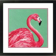 """Набор для вышивания гобеленом """"Розовый фламинго//Pink Flamingo"""" DIMENSIONS 71-20086"""