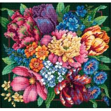 """Набор для вышивания гобеленом """"Цветочный блеск//Floral Splendor"""" DIMENSIONS 72-120011"""