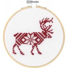 """Набор для вышивания крестом """"Reindeer//Северный олень"""" DIMENSIONS 72-76041"""